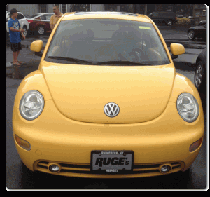 The Unmasculine Volkswagen Beetle